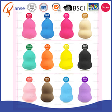 OEM customized Market Cosmetic Colorful Make Up Sponge Makeup konjac facial sponge baby powder puff with long handle