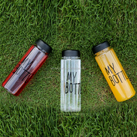Direct manufacturer singal wall water bottle sports bottle made in China