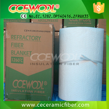 CCEWOOL 1260C Ceramic Fiber Wool for isolation