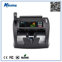 Multi-currency Bank Note Counting Machine with Counterfeit Detecting