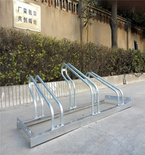 High Quality Hot Dipped Grid Bike Rack/Slot Cycle Park Stand
