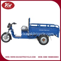 2015 Chinese New Top Brand KAVAKI Three Wheel Large Electric Tricycle For Cargo Cheap For Sale In Guangzhou
