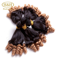 Top quality two tone ombre remy human hair unprocessed braiding hair grade 8a virgin human hair