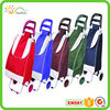 Folding shopping trolley cart fancy polyester lady travel bag