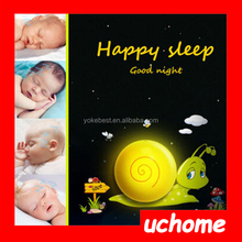UCHOME 3D wall night light and plug in night lamp with sensor for Christmas gift