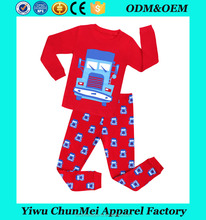 factory directly! brand new arrival pajamas kids car sleepwear children red nightwears underwears