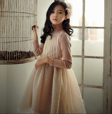 2016 Traditional Korean Hanbok Indian Fashion Kid Girl Fancy Dresses
