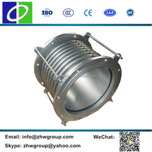 Universal stainless steel joint pipe vibration isolator bellow