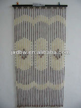 Hanging Doors And Windows Bamboo Beaded Painted Door Curtain