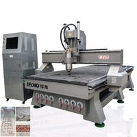 ledio Multi heads woodworking cnc router/two heads wood cnc machine/cnc milling machine door engraving machine in stock