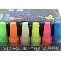 Wholesale 6 Colors 10ml Luminous Nail