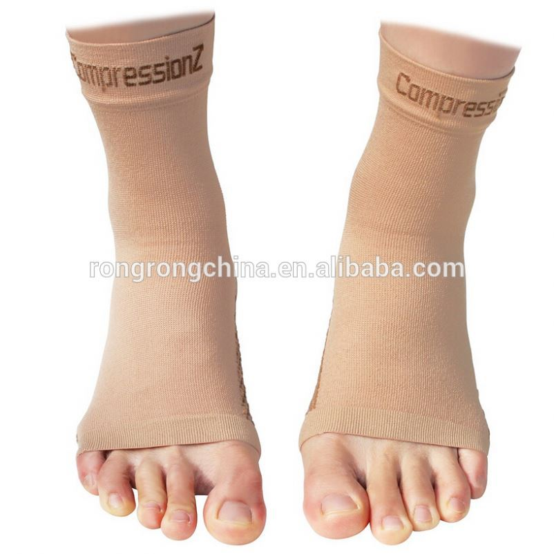 China Manufacturer Compression Plantar Fasciitis Foot Ankle Support Sleeves