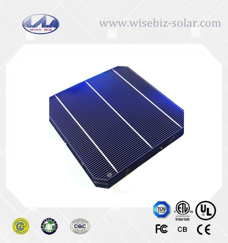 6x6 inch best monocrystalline solar cell price for solar panel/ Celula Fotovoltaica Lowest Price
