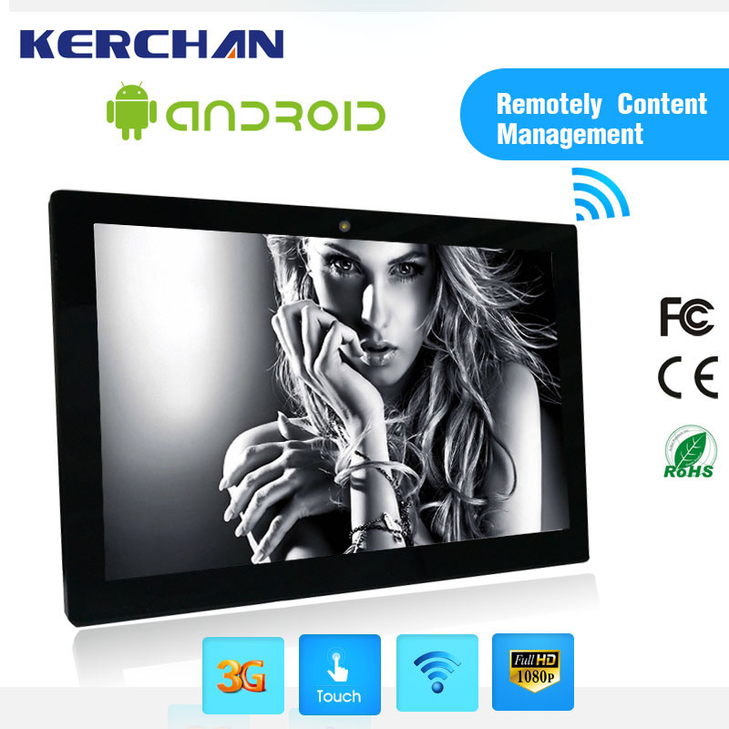 15.6inch Android 4.4 Super tablet touch screen mini pc with lcd display