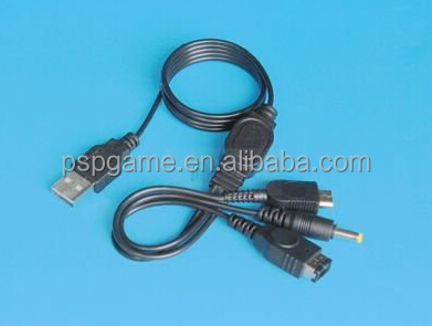High Quality 1.2m USB Power Cable for Nintendo DS , DS Lite, GBA SP, PSP1000/2000/3000