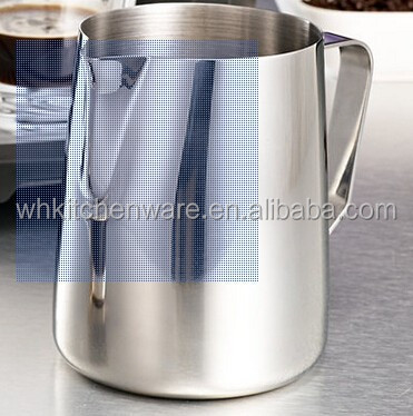 Large Stock Customized Logo Metal Milk Jug
