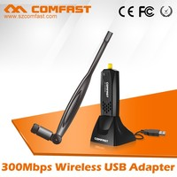 High Power COMFAST CF-WU883NL 300Mbps 2.4Ghz 802.11n Wireless Wifi USB Lan Adapter Network Card for windows 192.168.1.1