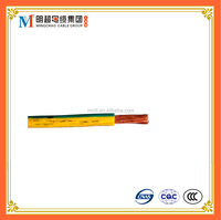 BVR stranded copper conductor PVC insulated single core cable heat resistant electric wire