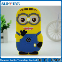 for nokia n520 minion case, despicable me 2 minions 3d silicone soft case cover for nokia n 520