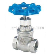 female stainless steel non-rising water gate valves ACERO AL CARBONO puerta valvula