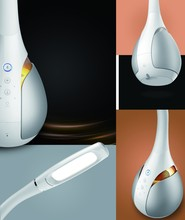 Smart reading lamp-e Bean is an intelligent reading lamp combine with voice control,eye protection,education,accompany