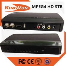 digital catv set top box MPEG4 standard motage chip with free CAS+SMS
