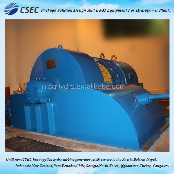 Small Eco Hydro Power Hydro Generator For Hydropower Plant