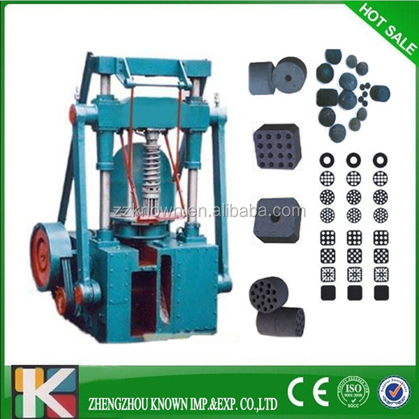 Widely used cylindrical briquette machine / honeycomb coal briquettes
