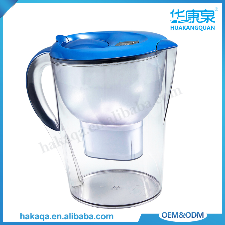 Office appliance food grade plastic bio energy water purifier pitcher pp antibacterial water filter