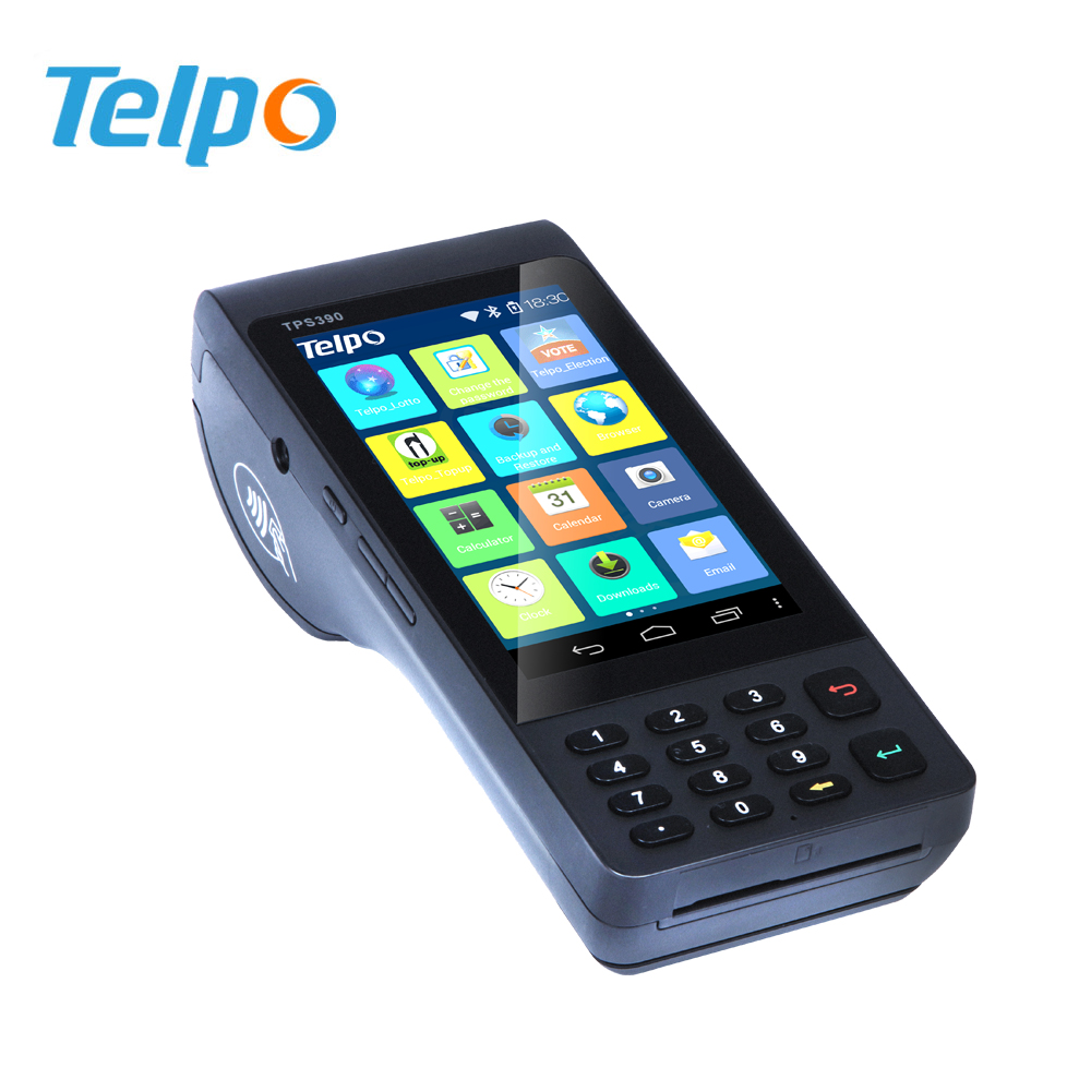 New fiscal point handheld pos terminal with Pin Pad