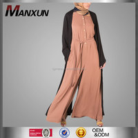 Manxun Factory Wholesale Woman Jumpsuits Islamic Jumpsuits Fashion Baju Kurung Elegant Kebaya Muslim Clothing