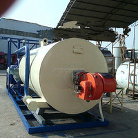 Thermal Oil heater used for wood processing