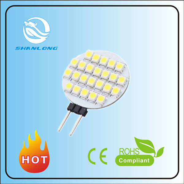 2016 zhongshan 7w smd 5030 Warm White LED g4 Spot light