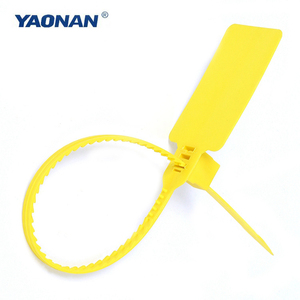 China supplier low price sealing strip, One-time use plastic wire seal