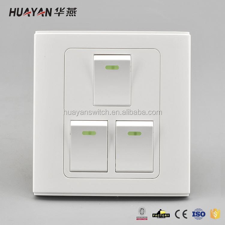 Latest unique design smart home touch light wall switch for sale