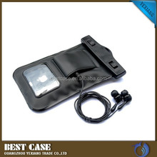 hot selling waterproof case for alcatel phone with earphone