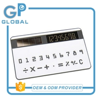 China factory promotion mini size rubber calculator