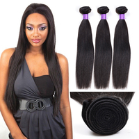 China Supplier Wholesale Cheap 10A Unprocessed Soft Malaysian Virgin Hair Straight