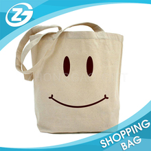 Factory Price Promotional Logo Printed Eco Friendly Reusable Shopping Cotton Tote Bag