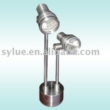 Stainless steel desk lamp without bulb