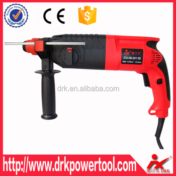 780W 220V Rated Voltage Electric Impact Drill Rotary Hammer Drill Combo Kit