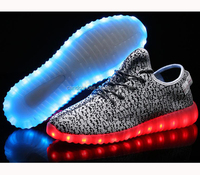 2016 Stylish Design Bulk High Neck Sports Shoes Running Light Up Shoes For Women