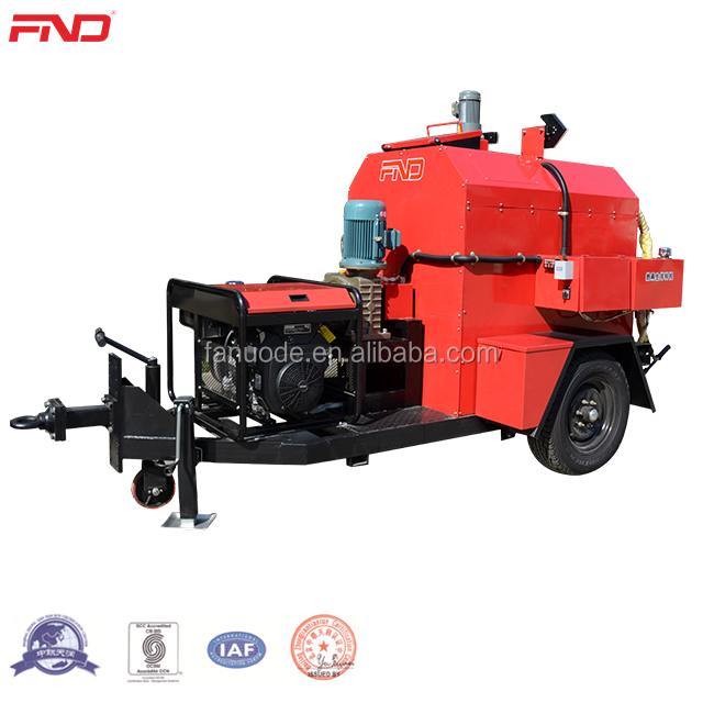 Integrated Asphalt Hot Mixers Recycling Equipment With Emulsion Spray System