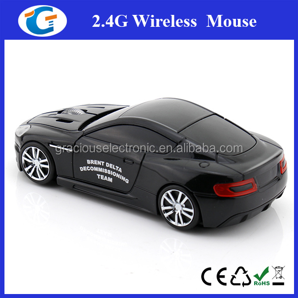 cool car shaped 2.4ghz wireless optical rohs mouse