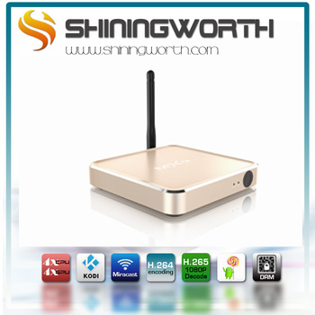 Metal tv box M12N Amlogic S912 2G 16G marshmallow tv box s912 android 6.0