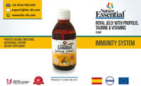 Royal Jelly with Propolis, Taurine & Vitamins 250ml. Syrup - Food supplement