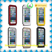 hot china products wholesale waterproof gorilla glass aluminum metal case new 2016