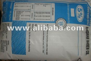 broiler feed concentrate 5%