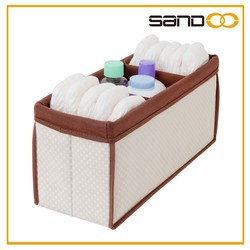 Sandoo hot product for 2016 compact designed baby bath organizer