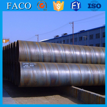 spiral pipe ssaw steel pipe ! large diameter spiral steel pipe on sale/large diameter sprial steel tube 911